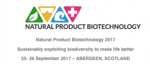 Natural Product Biotechnology 2017